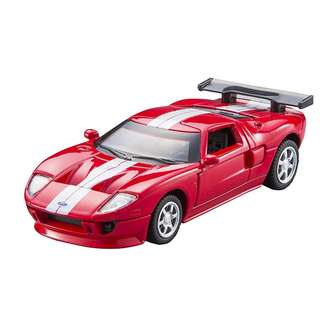 Ford GT 1/43 die cast car with pull back and go function