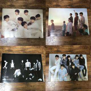 BTS Love yourself Tear Album Posters