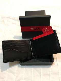 Tumi Wallet - ALPHA SLG wallet + money clip