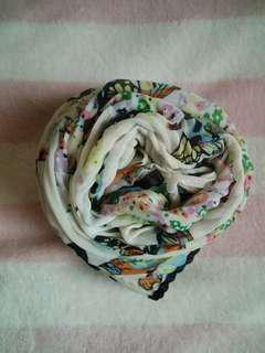 Butterfly Printed Shawl