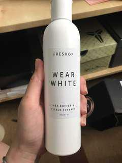 Freshop body lotion