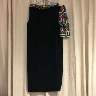 Danjyo Hiyoji Black Dress size M