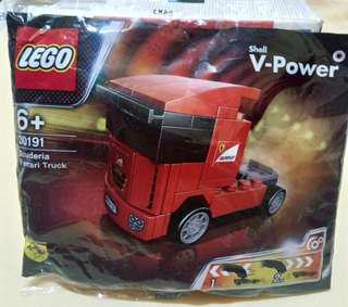Lego Ferarri Truck Shell not city marvel