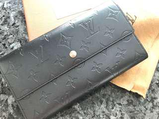 100%Auth Louis Vuitton wallet LV銀包