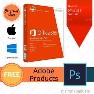 [ORIGINAL] Microsoft Office 365 Professional Plus ACTIVATION KEY