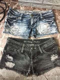 TakeAll maong shorts