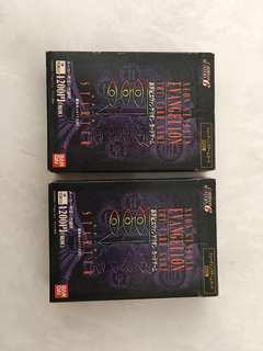 2 Box Neon Genesis Evangelion Card Game Japanese.