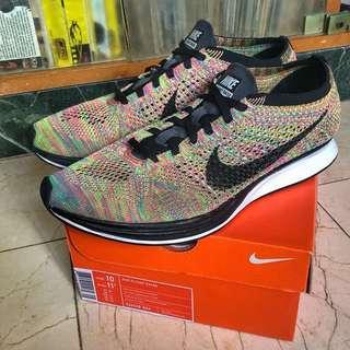 Nike Flyknit Racer Multicolor 3.0 US10