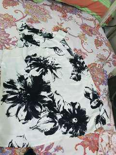 Anne Taylor printed blouse