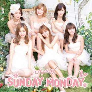 Apink SUNDAY MONDAY (Japanese Ver.) [w/ GOODS, Limited Edition / Type A] First Press