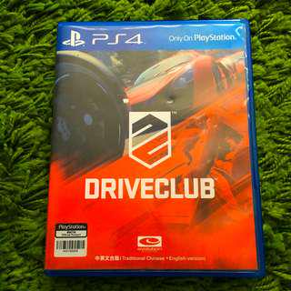 Ps4 Game: Driveclub