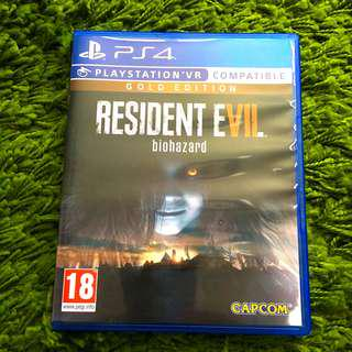 Ps4 Game: Resident Evil Biohazard (Gold Edition)