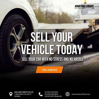 Sell car. Free valuation for your scrap or used car