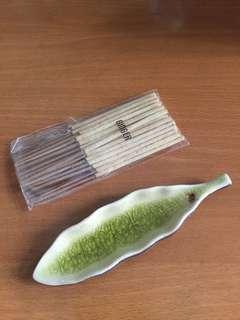 Ginger incense set
