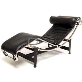LC4 Chaise Lounge in Full Leather, Brand New! - Ready Stock!