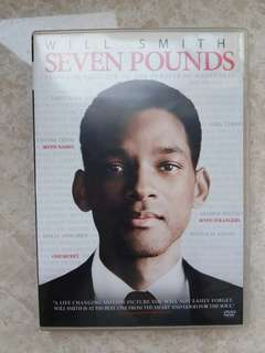 DVD seven pounds by will smith (2只包郵)