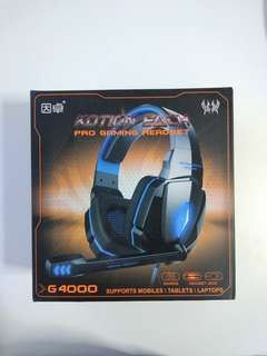 Luxury Gaming Headset for PC