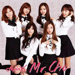 Apink Mr. Chu (On Stage) -Japanese ver.- [w/ DVD, Limited Edition / Type B] First Press