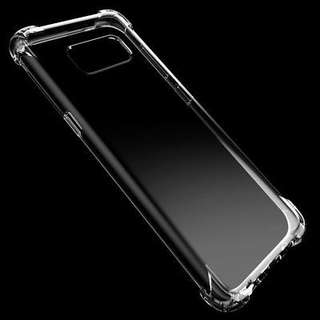 For Samsung Note 8 Shockproof Soft TPU Clear Case