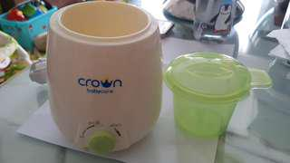 Crown Milk Warmer Preloved