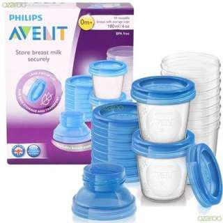Avent Breastmilk Storage