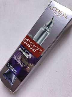 L'Oréal revitalift Filler eye volume redefiner eye cream