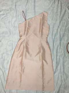 Sexy dress pink nude