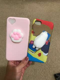 Squishy Paw and Seal iphone 7 case