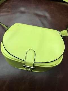 Yellow Long-Strap Bag