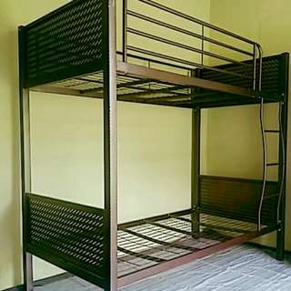 Double Deck Bed ( Wrought Iron )