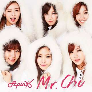 Apink Mr. Chu (On Stage) -Japanese ver.- [Limited Edition / Type C] Member version