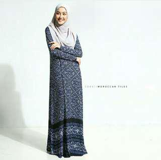 Zehra dress rina salleh clothing