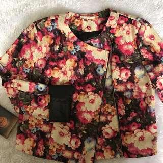 People are People Floral Jacket