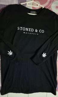 Stoned & Co long sleve Black