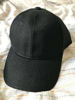 黑色cap帽