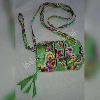 💗REPRICED💝Vera Bradley cp-wallet slingbag (authentic)