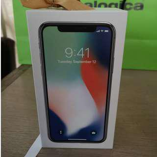 Sealed iPhone X 256GB Silver