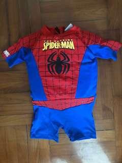 小童泳衣 浮水衣 Marval Spider-Man