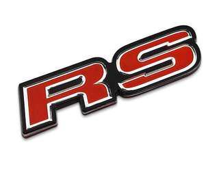 Emblem RS logo clear stock