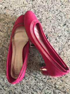 [NEW] M&S Pink Low-Heel Flats