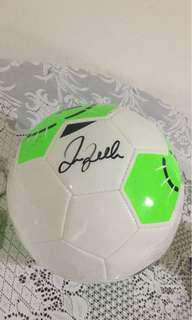 David Beckham autograph Soccer ball