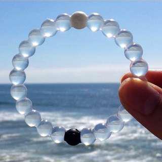 Lokai Bracelet - Mount Everest Pure SpringWater / Dead Sea Mud Zen Chakra Unisex Bracelet - Find Your Balance & Inspiration