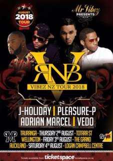 x2 RnB Vibez Tour!!!