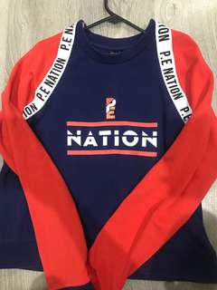 New Size S Pe nation jumper