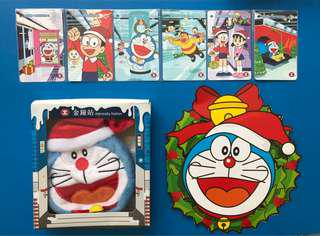 MTR x Doraemon 12年版紀念車票全套