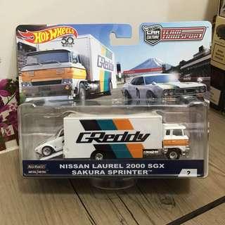 Hotwheels Team Sport Nissan Laurel 2000 SGX Sakura Sprinter