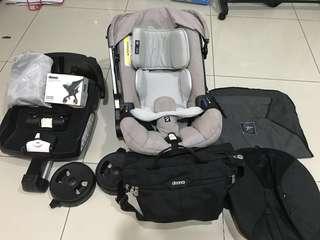 Doona 2 in 1 Stroller plus FREE 8 accessories worth >RM1.5k