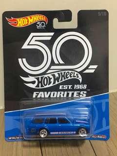 Hotwheels Favourite Datsun Bluebird 510 Wagon