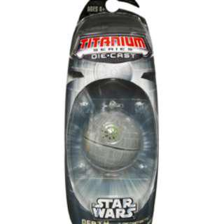 Star Wars Titanium Series Death Star, Naboo Fighter, Star Destroyer & TIE Fighter (White) MOSC