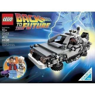 全新 Lego 21103 Back to Future